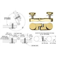 CRL Brass Round Cap Angle Glass Panel Connector by C.R. Laurence. $21.50. Ideal for Connecting Free Standing Screens or Panels. CRL Angle Glass Panel Connectors are designed to connect free standing dressing screens, fireplace screens or decorative panels. CRL Angle Panel Connectors will work with panel thicknesses from 3/16 inch (4.7 millimeter) to 3/4 inch (19 millimeter) and are fully adjustable in angles up to 300º. Available in several popular finishes and either round ...