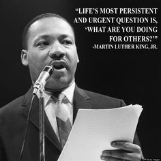 """""""What are you doing for others?"""" -- MLK. Jr.  Volunteering? Donating? Catching random acts of kindness on camera? Show us how you do good in the world by tagging a pic #HPImpact and we might feature you!"""