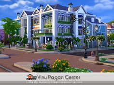 Vinu Pagan Center by autaki at TSR via Sims 4 Updates