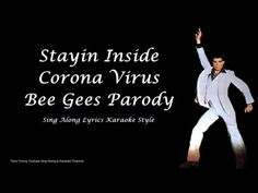 Bee Gees Stayin Inside Coronavirus Sing Along Lyrics Sound Of Music, Your Music, Hospital Humor, Mother Teach, Help Me Grow, Daily Video, Music Humor, Close My Eyes, Optical Illusions