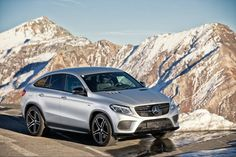 Keep climbing.  #MBPhotoCredit: @PeterLintner  #Mercedes #Benz #AMG #GLE450 #Coupe #Snow #Instacar #carsofinstagram #germancars #luxury