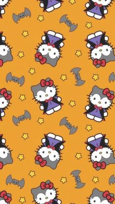 Find holiday fabric for all your holiday crafting needs at JOANN Fabric & Craft Stores. No matter the occasion, we carry a wide selection of holiday sewing fabric for year-round crafts and projects. Hello Kitty Halloween, Hello Kitty Birthday, Hello Kitty Pictures, Kitty Images, Hello Kitty Backgrounds, Hello Kitty Wallpaper, Halloween Fabric, Halloween Themes, Holiday Themes