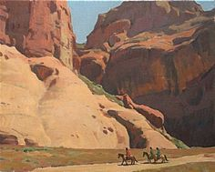Canyon Pilgrims by Glenn Dean  ~ 32 x 40