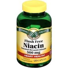 Lowers cholesterol and triglyceride levels in the blood and treats niacin deficiency (pellagra). Also reduces heart attack risk and narrowing of the arteries in people who have heart disease. This medicine is a vitamin