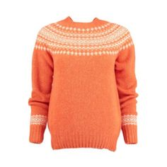 Lauren Ralph Lauren Fair Isle Sweater ($155) ❤ liked on Polyvore ...