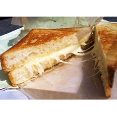 Grilled Cheese ($6.95); where's the green chili, that would make it perfect!