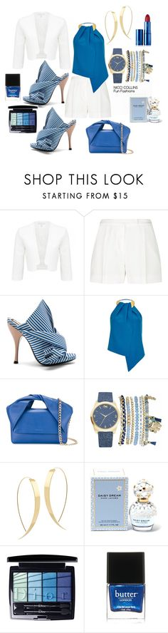"""Fun Fashions"" by niccicollins ❤ liked on Polyvore featuring Elie Saab, N°21, Safiyaa, J.W. Anderson, Mixit, Lana, Marc Jacobs, Christian Dior, Butter London and Lipstick Queen"