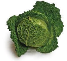 A savoy cabbage recipe using goose fat, onion, nutmeg, pepper and white wine. Oh yes, and the cabbage