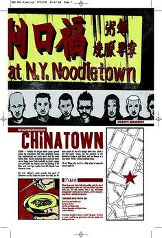 Chinatown  DMZ, 12  Riccardo Burchielli, Brian Wood