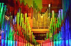 Colorful Pipe Organ!!!
