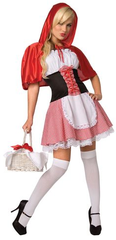 Red Riding Hood Adult Costume from BuyCostumes.com
