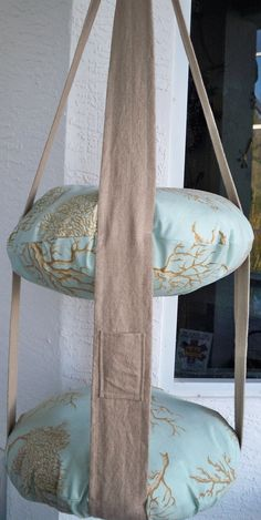 2 Ebene hängende Katze Bett Korallen Print Kitty Wolke