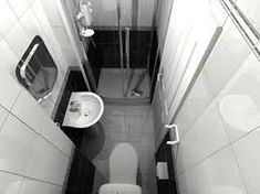 small ensuite shower room and Loft Small Wet Room, Small Bathroom Layout, Small Bathroom With Shower, Small Toilet Room, Tiny Bathrooms, Ensuite Bathrooms, Narrow Bathroom, Upstairs Bathrooms, Small Showers