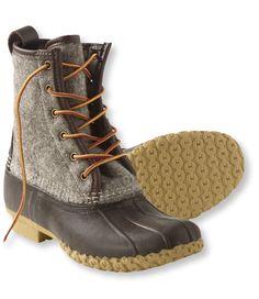 Felt Duck Boots // L.L.Bean