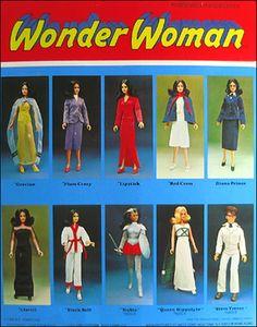 Wonder Woman Lynda Carter TV Series Doll - Canadian Version - 1976