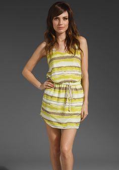 SAM Lourdes Tie Waist Tank Dress thestylecure.com