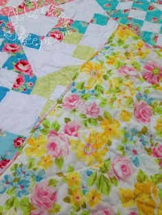 Jacob's Ladder ~ Finish ~by A Quilting Sheep