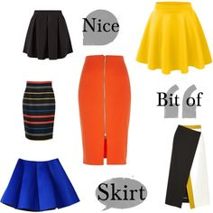 A fashion look from December 2014 featuring river island skirts, yellow circle skirt and blue flared skirt. Browse and shop related looks. Flare Skirt, Waist Skirt, High Waisted Skirt, River Island Skirts, Fashion Looks, Yellow, Nice, Polyvore, Shopping