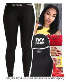 """""""Too Fine"""" by divap01 ❤ liked on Polyvore featuring NIKE, Chanel, Ivy Park and Lost & Found"""