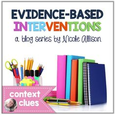 My newest series all about context clues and how to teach them!