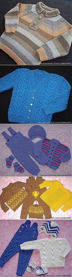 Вязание для детей от Любови Галдиной.
