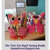 """The """"Owl You Need"""" Sewing Buddy - via @Craftsy"""