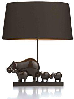 Hippo family.Chcolate gloss base.