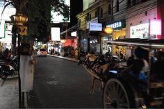 Кута, одна из центральных улиц