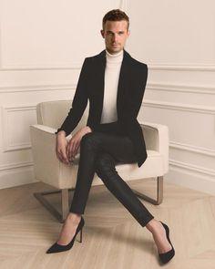 99 Men& Winter Boots with Charm Ideas, # . Womens Fashion For Work, Look Fashion, Winter Fashion, Fashion Men, Dress Fashion, Style Androgyne, Feminine Mode, Men Wearing Dresses, Men In Heels