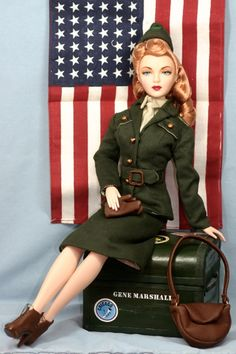 """THE STUDIO COMMISSARY: AD Theme: 3 of my Favs (from the archives)  -   Posted by Am on August 29, 2015, 8:04 pm.   This picture is """"One of my all-time favorite AD outfits: USO"""".  (3 PICS)"""