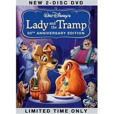 lady + tramp = one of my favorite movies of all time!!