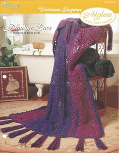 Boudoir Lace Afghan Collector's Series by KnitKnacksCreations