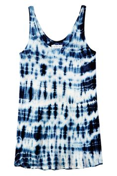 Blue and Tie Dye - Summer Trends 2014 - Harper's BAZAAR