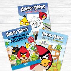 """Tres libros de tus personajes favoritos al precio de uno:  Aprende a dibujar.¿Sabes dibujar? No pasa nada, reproduce los pájaros más enfadados, famosos y populares, con esta guía los dibujarás """"de un plumazo"""", ¿te apuntas al reto?  ¿Te gusta ..."""