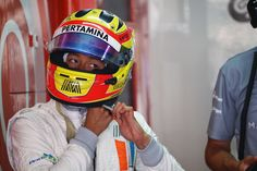 Rio Haryanto's last F-1 qualifying?