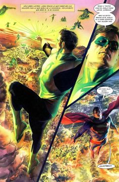 ALEX ROSS Green Lantern