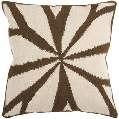 A Masculine Pillow familiar to an African Mudcloth
