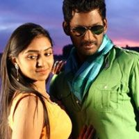 Thiru aims for a hat-trick   Director Thiru's Naan Sigappu Manithan, starring Vishal is releasing 11 April. Produced by Vishal Film Factory in association with UTV, the movie stars Vishal, Lakshmi Menon in lead roles. Music is by G V Prakash.  Read More: http://www.kalakkalcinema.com/tamil_news_detail.php?id=6504&title=Thiru_aims_for_a_hat-trick