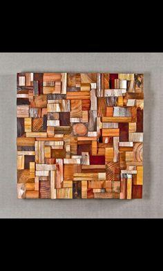 Cuadro con trozos de madera                              …                                                                                                                                                                                 Más