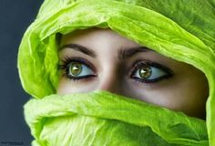 Green - ABSOLUTELY BEAUTIFUL green eyes.