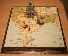 Map of India Cake / Cake Chooser
