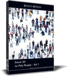 Sample Dosch 3D - Lo Poly People Vol1 Gratis Modelo 3D / Otros .max .c4d .obj .3ds .fbx .lwo .stl