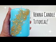 Henna Candle Tutorial |Henna Art by Aroosa - YouTube