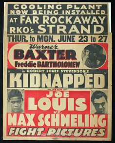 vintage boxing poster - Google Search