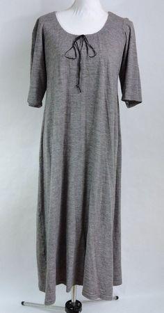 Johnny Was Women Gray Maxi Dress Size M Medium #JohnnyWas #MaxiDress