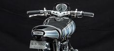The #speedometer on the new Brough Superior #SS100 #motorbike. Simply stunning!