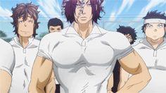 "baragaki: "" grimminded: "" "" Sekizan Takuya  All Out!! Ep. 2 "" "" GOD JUST LOOK AT HIM. HE'S SO STUPID HOT. >///////< """