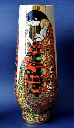 Dennis Chinaworks Klimt Hope approx. 32cm in height Limited Edition of 20 http://www.bwthornton.co.uk/dennis-chinaworks.php