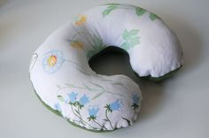 the pattern for travel neck pillow