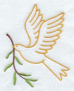 Peace Dove (you can always flip, of course)